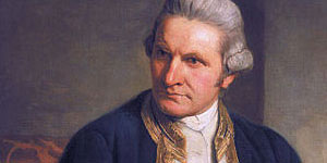 James Cook painting