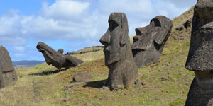 Rano Raraku moai quarry factory