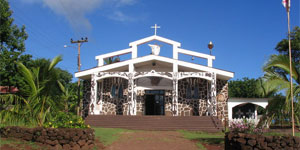 Easter Island church