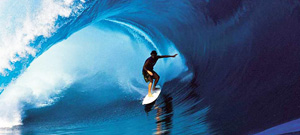 Wave surfer ocean water sport